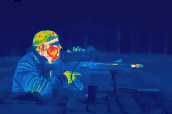 Long range thermal imaging camera