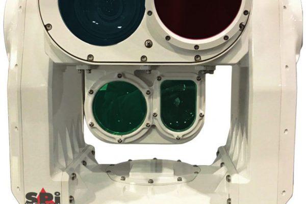 Long range PTZ flir thermal imaging camera with LRF, IR laser pointer/designator