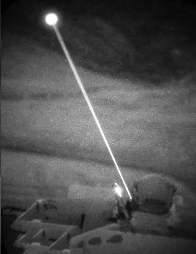 SWIR laser profile 1550nm laser